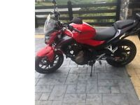 2016 Honda CB500F ABS Latest Model in showroom condition