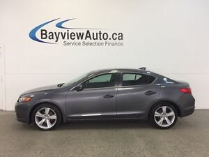2015 Acura ILX PREMIUM PKG- ALLOYS! SUNROOF! LEATHER! REV CAM!