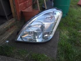 Iveco front light ns