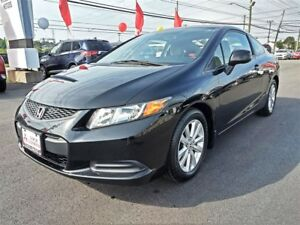 2012 Honda Civic EX - only $134 Biweekly taxes in!