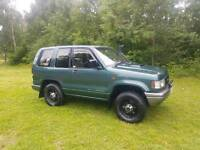 Isuzu trooper swb 3.1 76k