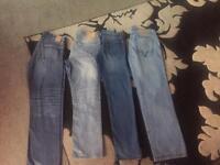 Men's Jeans Bundle (NEXT,KANGOL,GAP)