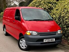 **LONG WH BASE+NON TURBO** TOYOTA HIACE 2.4 GS-D + FUL 18STAMP HSTORY + 5 KEYS + NICE CLEAN TIDY VAN