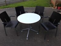 Preloved Used Office Furniture - Reception Seating, Computer Chairs, canteen Chairs
