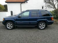 Jeep Grand Cherokee Limited Stealth V8 4.7 LPG
