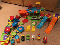 VTech Toot Toot Garage Cars and Track