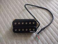 Dimarzio Evolution DP158 Neck position humbucker guitar pickup in black