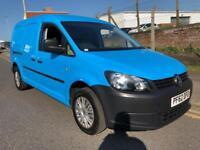 2013 62 Volkswagen Caddy Maxi 1.6 TDI 102 Blue LWB NO VAT
