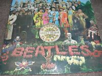 BEATLES SGT PEPPERS LONELY HEARTS VINYL ALBUM