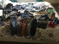 Baby boy clothes 12-18m / toddler clothes bundle