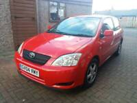Toyota Corolla T3 D4D 2004 In Red