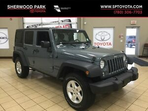2015 Jeep Wrangler Sport 4x4-4 Door- Automatic!- PRICED TO GO CL