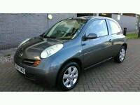 Nissan Micra 1.5 dCi SE 3dr £30 A Year Tax. Drives great. 2004. Mot.