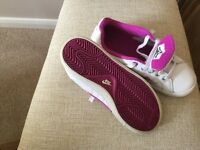 Ladies Nike trainers size 4 in white