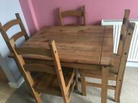 FREE dining table and chairs. Please read description