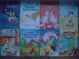 8 Walt Disney Classic Reading Books
