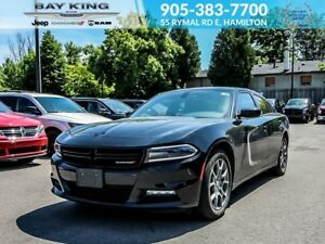 2017 Dodge Charger RALLYE, AWD, BLINDSPOT MONITOR, SUNROOF, BLUE