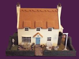 1/24th Scale Thatched Tea Rooms and Gardens