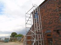 boss scaffold tower 6.5m working