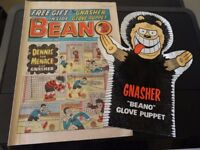 Beano from 1980 with Free Gift - Rare!