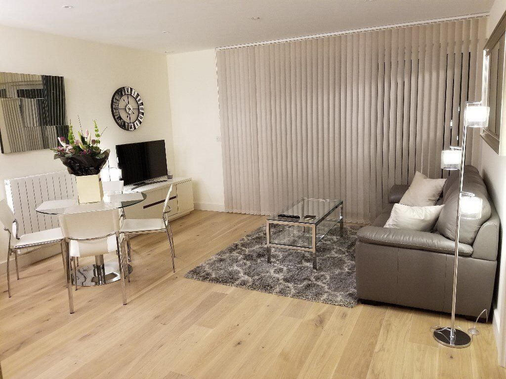 BRAND NEW FURNISHED APARTMENT -HAMPTON APARTMENTS ROYAL ARSENAL RIVERSIDE WOOLWICH SE18 -MOVE IN NOW