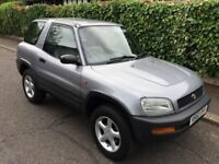 TOYOTA RAV 4 AUTOMATIC FULL SERVICE HISTORY WITH 17 STAMPS