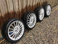 """Inovite 18"""" Alloy Wheels New Tyres"""