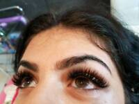 Professional Eyelash extensions! Russian volume 2d-8d lashes !glamour lash