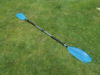 Kayak / Canoe / 2 Piece Aluminium Paddle
