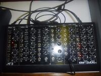 MFB Kraftzwerg analog modular synthesiser with 3 vcos, noise, 2 vclfos, dual adsr, 24db LP filter