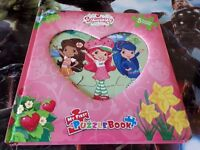 Strawberry Shortcake My First Puzzle Book, Philda Publishing