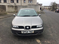 seat leon 54 plate ( brand new mot ) low miles