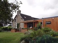 Stylish renovated cottage in the French country - every entertainer and gardener's dream