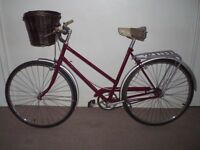 "Ladies/Womens Classic/Vintage/Retro Single Speed Celia 21""Commuter/City/Town Bike (will deliver)"