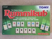NOW SOLD Rummikub Numbers Game From Tomy 100% Complete With Instructions