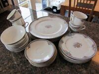 Fine Bone China Dinner & Tea Set