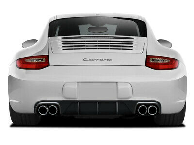 - 09-11 Porsche 997 AF-2 Aero Function (GFK) Rear Bumper Diffuser Body Kit 108928