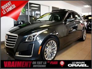 2017 Cadillac CTS AWD LUXE 155$/SEMAINE
