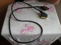 SCART Leads – Gold - For TV & Audio Equipment