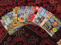 Runner's world magazines