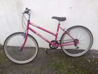 Ladies bike.