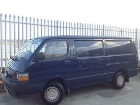 TOYOTA HIACE PANEL VAN 2.5 DIESEL LWB MANUAL BLUE