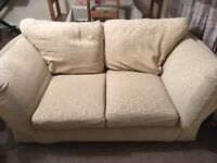 FREE Sofas - one leather one fabric