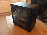 4K VR Enthusiast Gaming PC: i5 7600k, GTX 1070, 32GB RAM, 250GB SSD, 2TB HDD, Liquid Cooled + Games