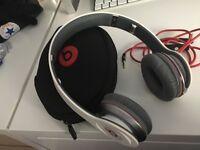 For sale Dr Dre beats solo 1 white headphones