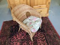 Child's basket chair