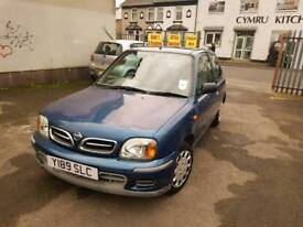 AUTOMATIC. NISSAN MICRA. 1 LITRE PETROL. IDEAL FIRST CAR. PX WELCOME