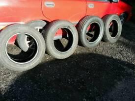 4 x 205/65 R16c tyres