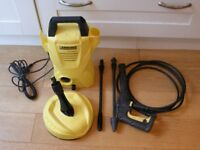 Karcher K2 compact wtih patio cleaner and standard lances.