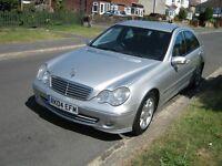 2004 Mercedes C180 Kompressor Avantgarde SE Auto.FSH.P/X welcome.